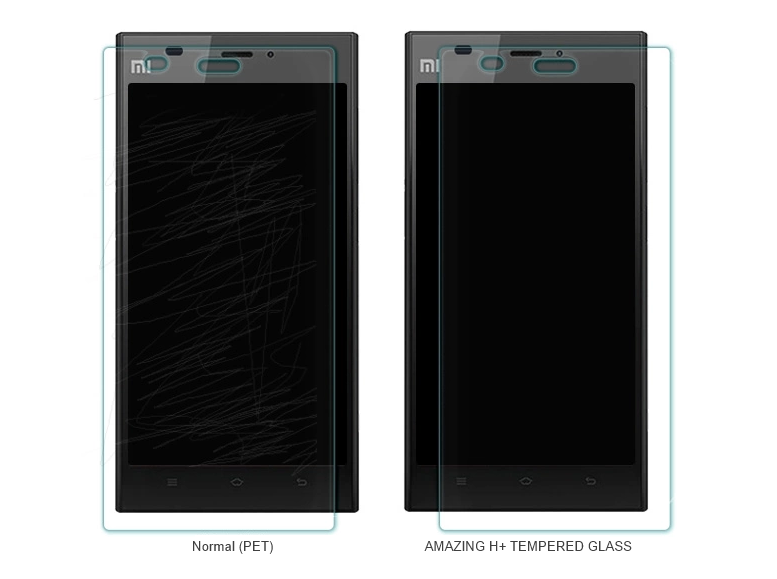 mi3 tempered glass screen protector 3