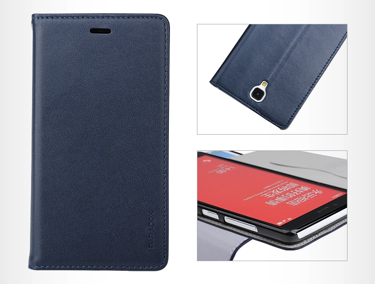 redmi note genuine leather