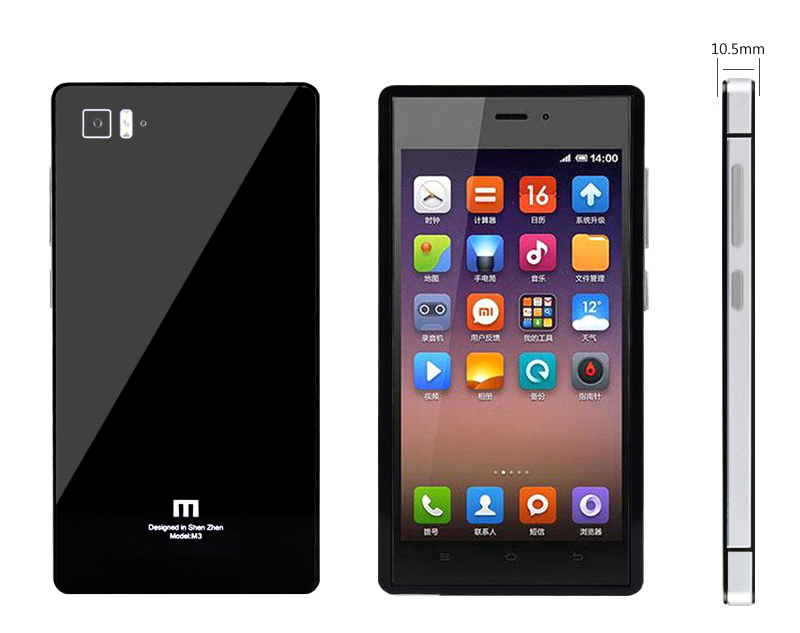 Mi3 Mirror Toughen Glass Panel Cover 2