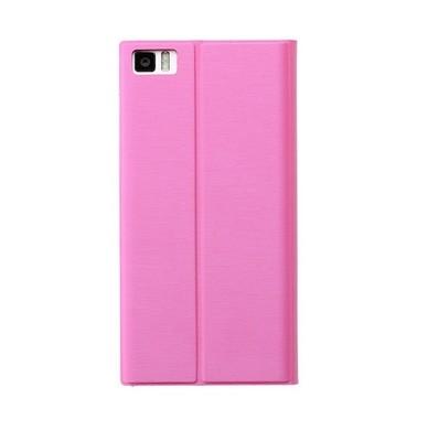 mi3 flip case pink