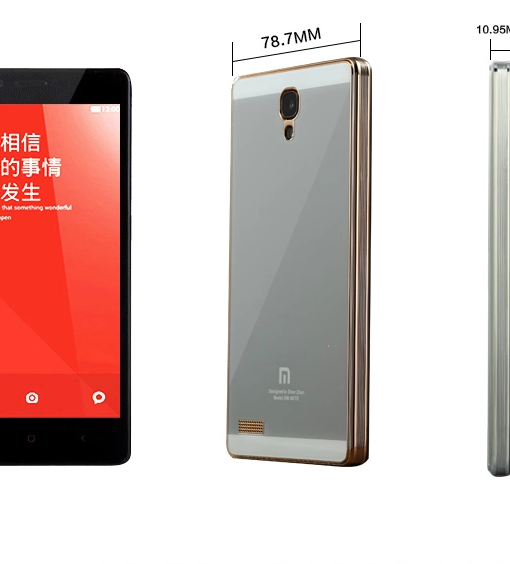 RedMi Note Mirror Toughen Glass Panel Cover 2
