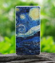 Redmi note 3D painted back cover starry night