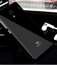 RedMi 1S Mirror Glass Panel with Metal Frame Black