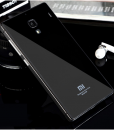 RedMi 1S Mirror Glass Panel with Metal Frame Black Grey