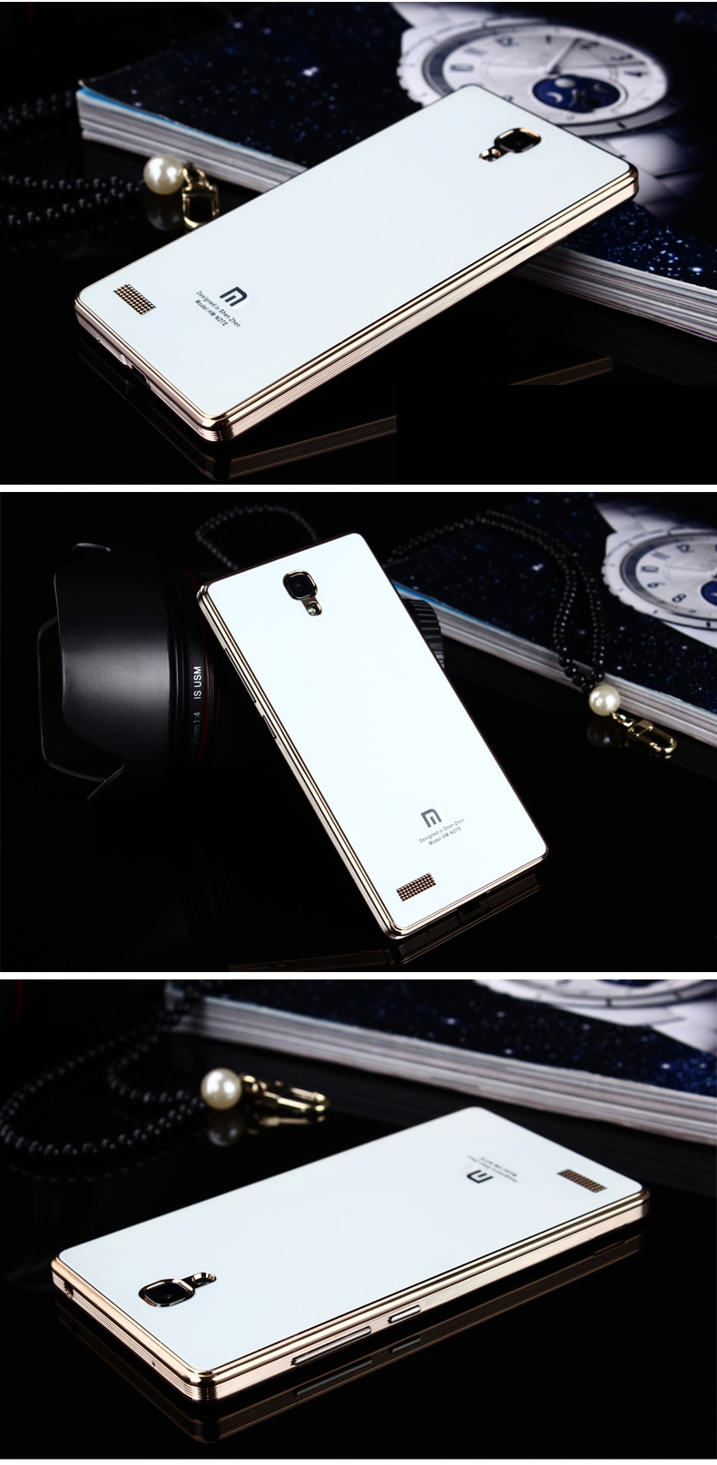 RedMi Note Mirror Glass Panel Cover 9