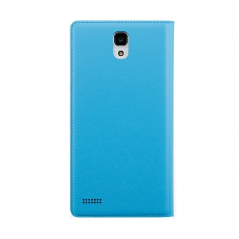 redmi note flip case back blue