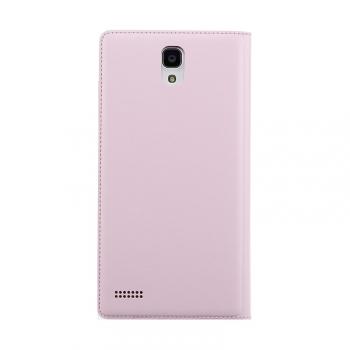 redmi note flip case back pink
