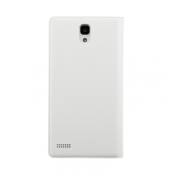 redmi note flip case back white