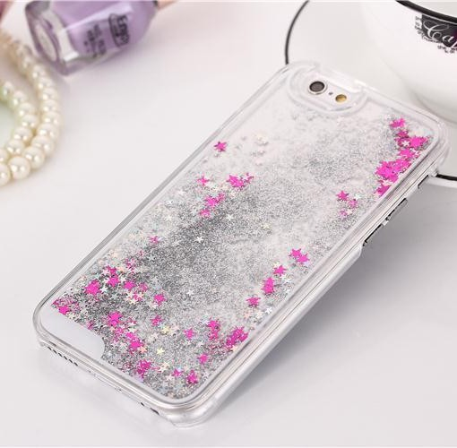 iPhone 6 Star Liquid Quicksand hard case (1)
