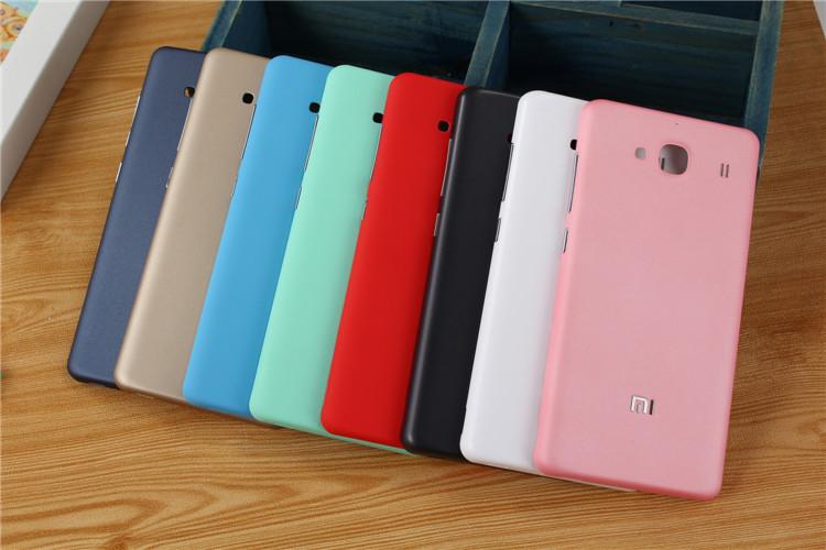 innovative design 92d19 31ca8 Xiaomi Redmi 2 Matte Candy Color Back Cover